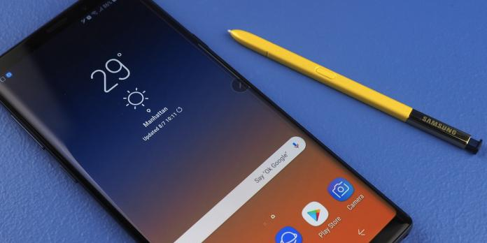 [Tutoriel] Comment faire une capture d'écran / Screenshot sur le Samsung Galaxy Note 9